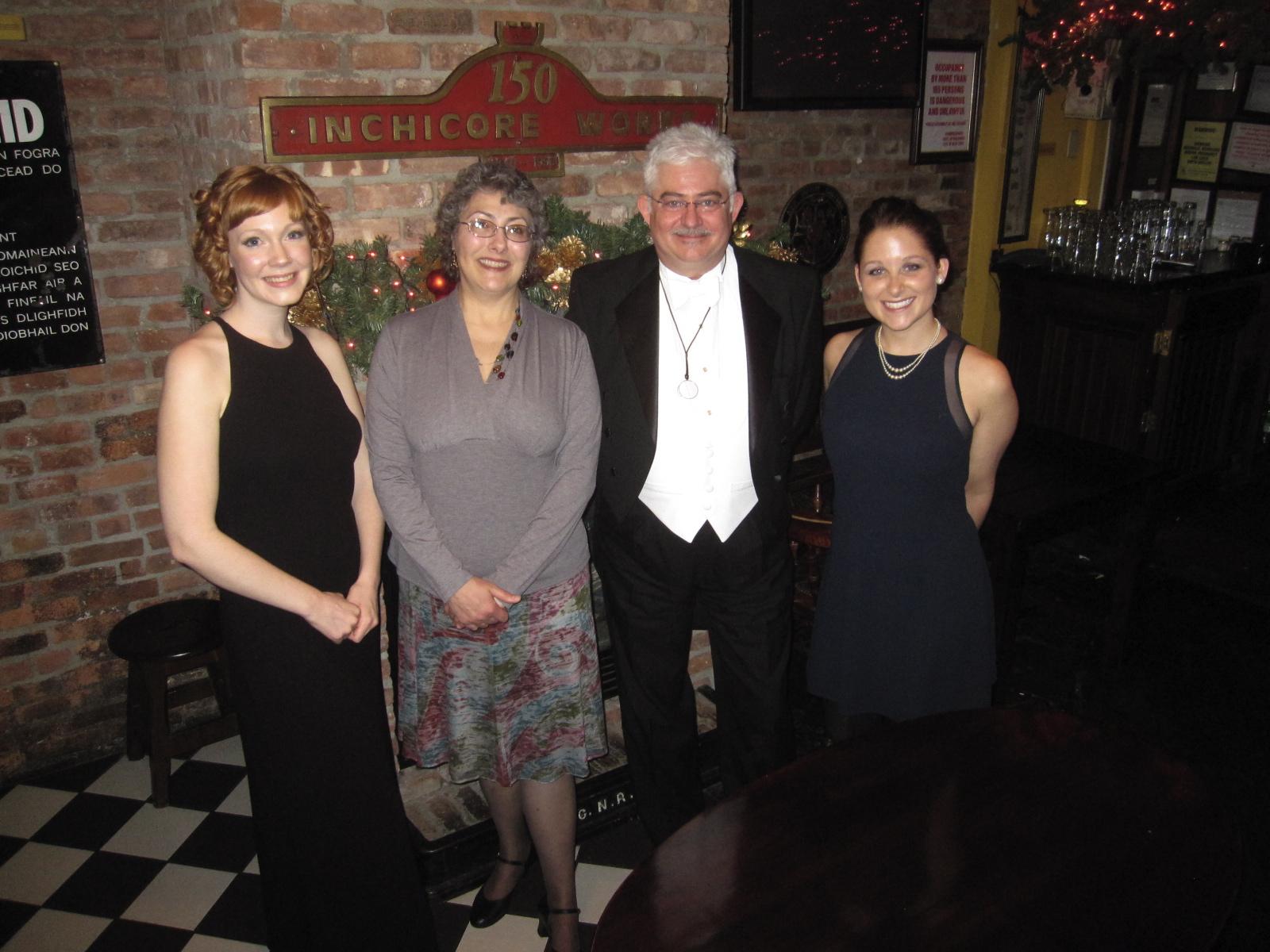 Emily Hockaday, Linda Landrigan, James Lincoln Warren, Jackie Sherbow, 2011